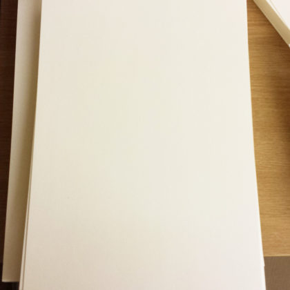 A4 CREAM – Plain Everyday Craft Card Stock