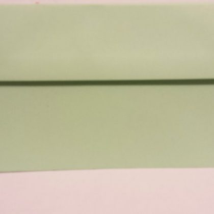 JADE GREEN DL ENVELOPES HIGH QUALITY VANGUARD GUMMED STRAIGHTFLAP 120GSM