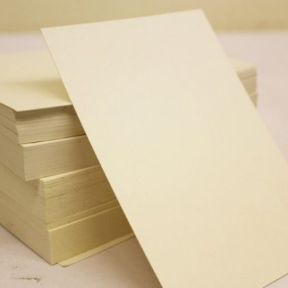 A6 CREAM – Plain Everyday Craft Card Stock