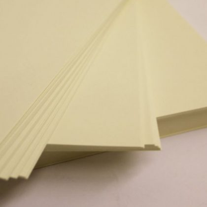 A5 CREAM – Plain Everyday Craft Card Stock